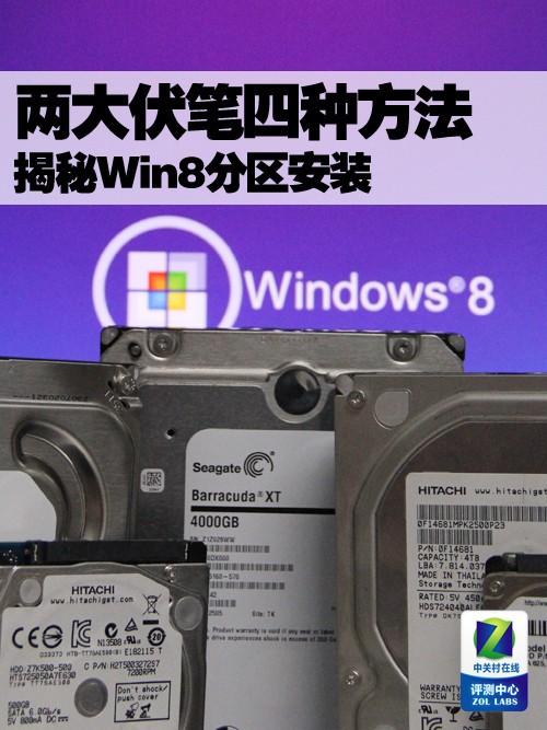 两大伏笔四种方法 揭秘Win8分区安装