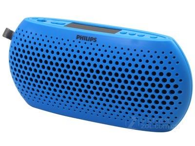 飞利浦 SBM130 插卡音箱 双喇叭 多种音源 FM收音机