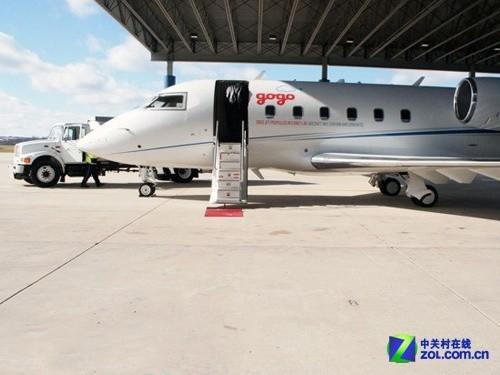 探密飞机上高速wifi 无线航班装备展示-中关村在线