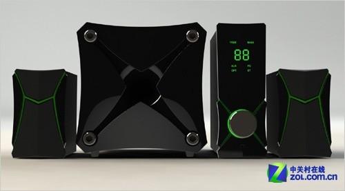 hivi惠威gt1000音箱带有无线蓝牙连接
