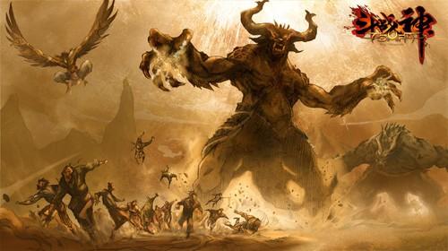 TGC2012《斗战神》破茧内测激活 剧情视频首发