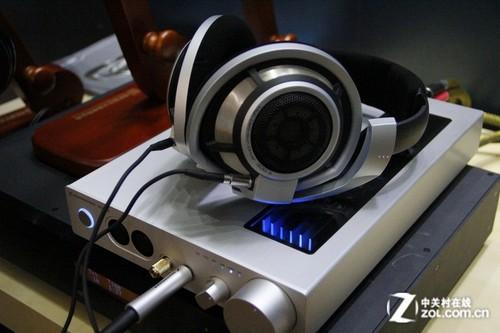 音响展2012:森海塞尔展区的高端试听区
