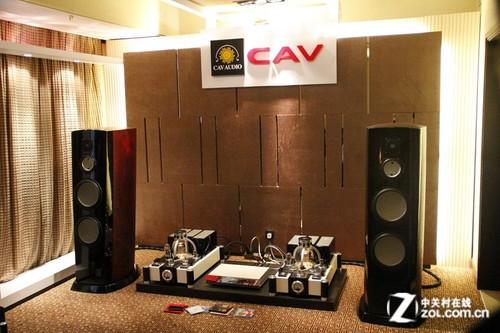 音响展2012:CAV品牌展出多款HiFi设备