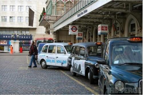 2013年伦敦计程车将提供免费WiFi服务