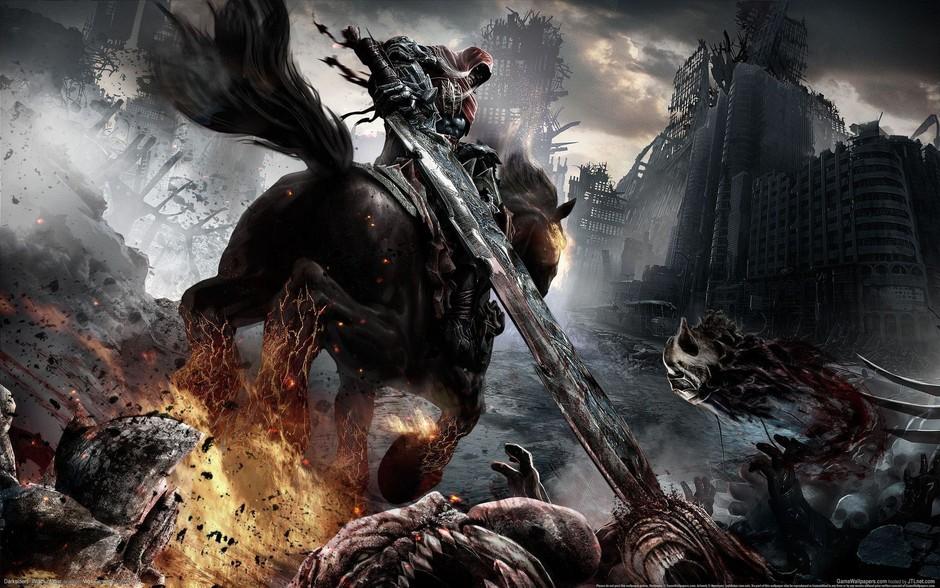 动作冒险游戏《暗黑血统》有魔兽现代版的风格。本作的主角是末日四骑士之一。多数游戏凡是碰上此类题材都会在重要的时刻剧情一转,让人类最终免于被消灭,但是本作的目标是彻彻底底的、真正的摧毁全人类,但是摧毁人类只不过是本作的第一步,在游戏前半个小时的时间里就可以完成,然后就留下一个没有人类存在的世界,取而代之的是恶魔和堕落天使。 作者:靳勇 2012-12-07 06:08