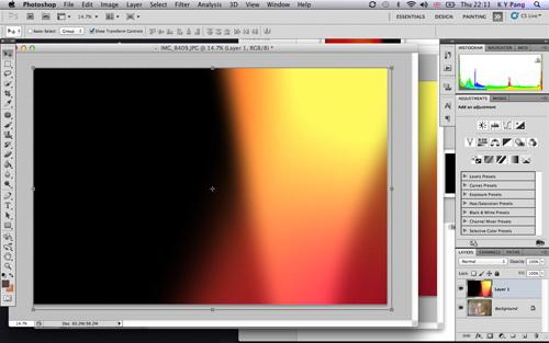 【高清图】 简单几个步骤利用ps制造胶片漏光的神奇效果图3