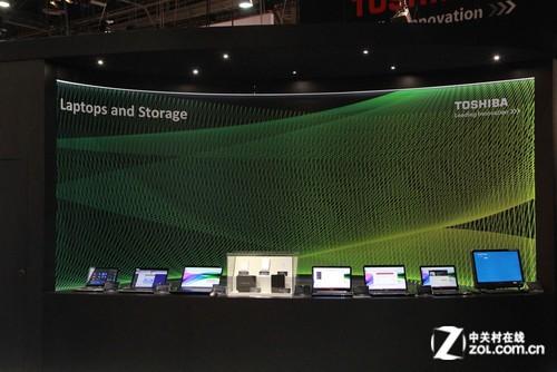 CES2013:东芝笔记本新品主打3D和触控