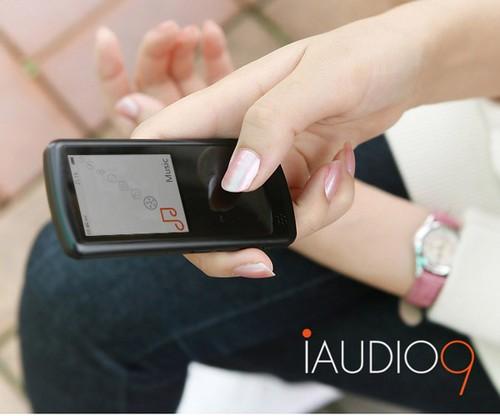 多样化的声音 iAUDIO 9提供给你无穷乐趣