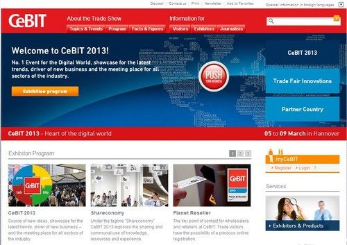"CeBIT""分享""主题:大数据与安全成热点"