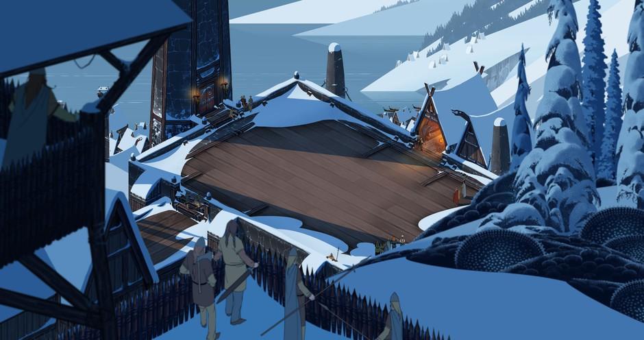 《旗帜传说》背后的优雅 游戏原画赏