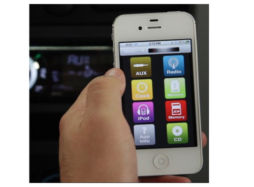 Scosche推出用手机遥控的车载音响系统
