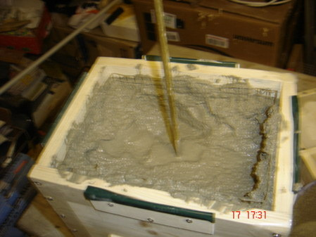 1声道音箱  混凝土音箱制作步骤2 混凝土音箱制作步骤3