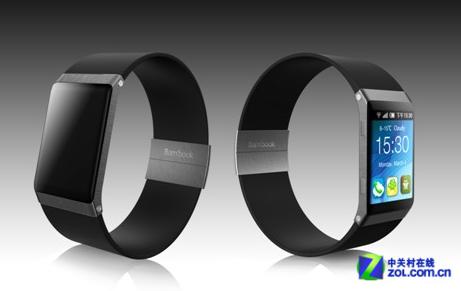 果壳电子智能手表搭载android4.2 支持语音操控高清图片