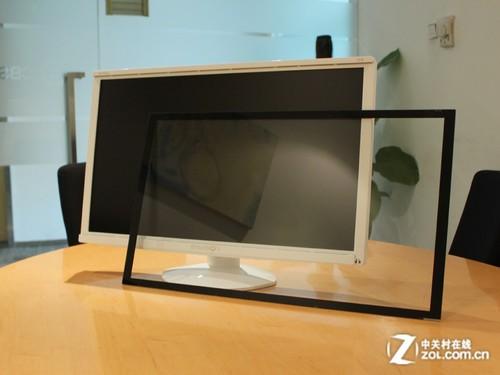 可拆卸镜面屏 易美逊27吋LED液晶首测