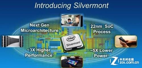 IT跨界新航标 英特尔Silvermont架构
