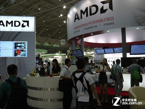 Computex:AMD展台探秘 海量新品曝光