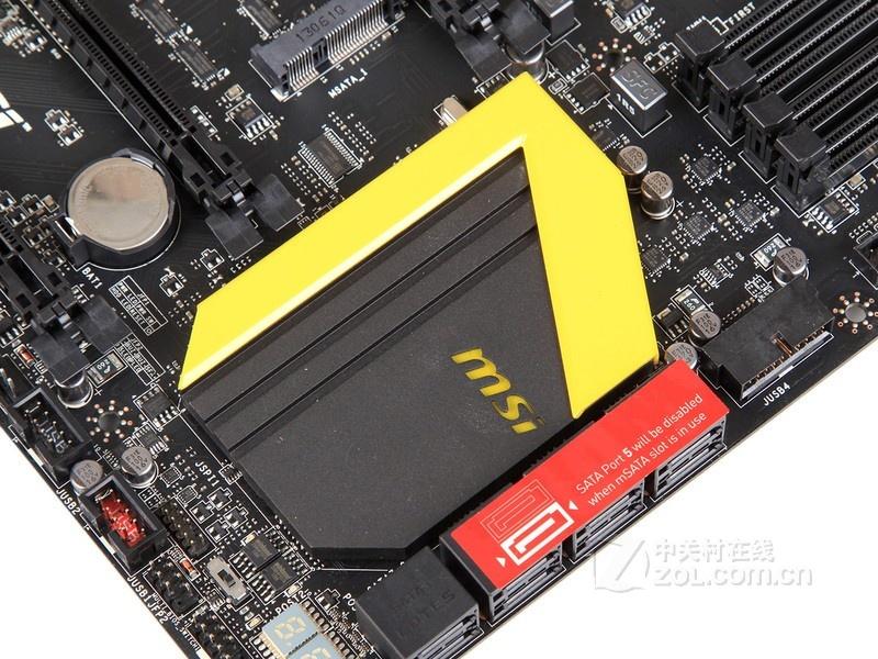 水果老虎机电路板:微星z87 mpower max