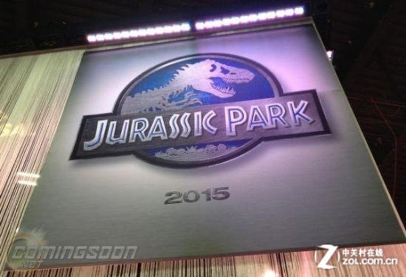 【高清图】 侏罗纪公园4 新版Logo曝光 定档2