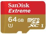 闪迪至尊极速移动 microSDHC UHS-I 存储卡(64GB)