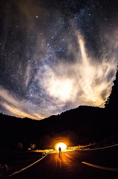 夜空中的繁星梦 用L镜头记录下曾经的梦想