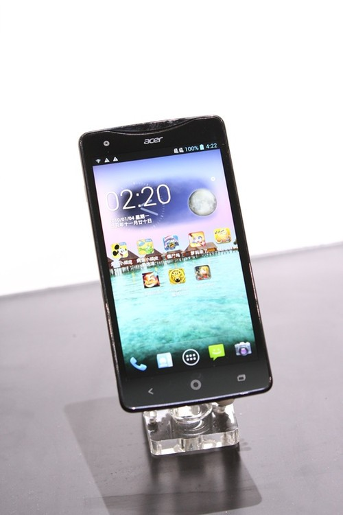 超大屏超  有感Acer Liquid S1亮相2013ChinaJoy