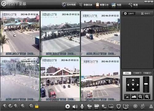 华迈千里眼覆盖泉厦高速平安交通有保障