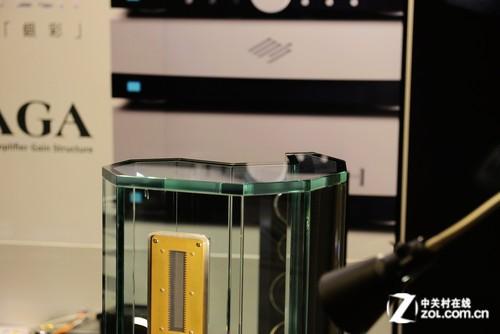 2013香港视听展 Crystal Cable水晶箱