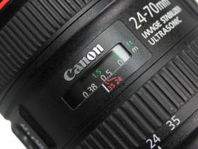佳能EF 24-70mm f/4L IS USM焦距刻度