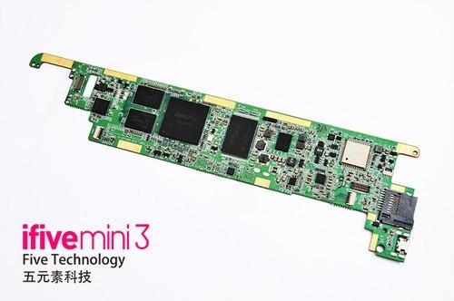 平板电脑 正文  ifive mini3pcb采用了由富士康旗下为苹果,华硕,联想