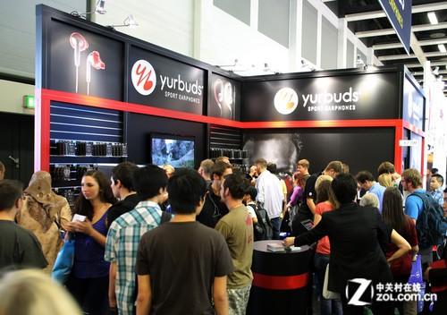 IFA2013电子展 yurbuds inspire耳塞