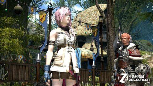 雷霆兽人服饰 《最终幻想14》男女角色专用装备公开