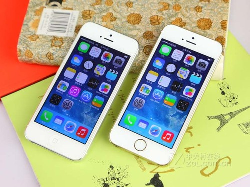 金色仍属上位 苹果iPhone5s报价5450元