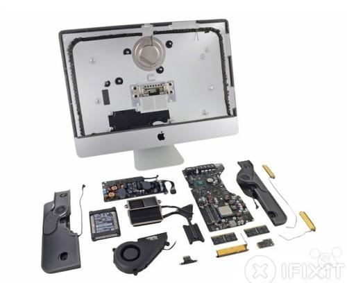 升级版苹果iMac内部变化 iFixit首度拆解