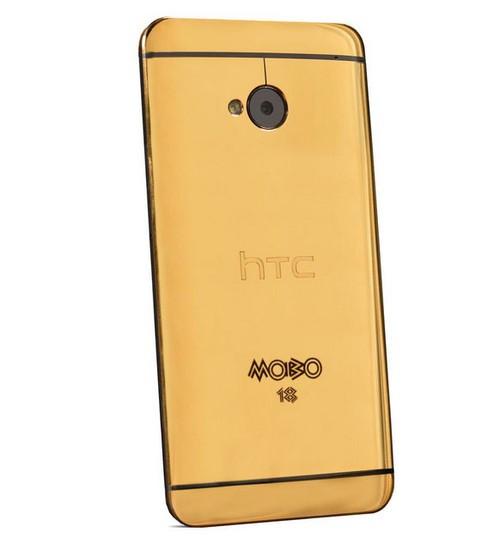只有5台! 纯金版HTC One欢迎土豪抢购