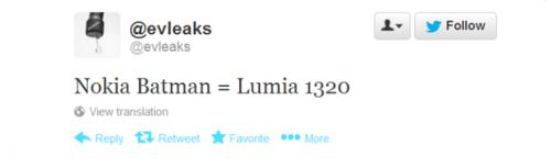 诺基亚Lumia1320发布