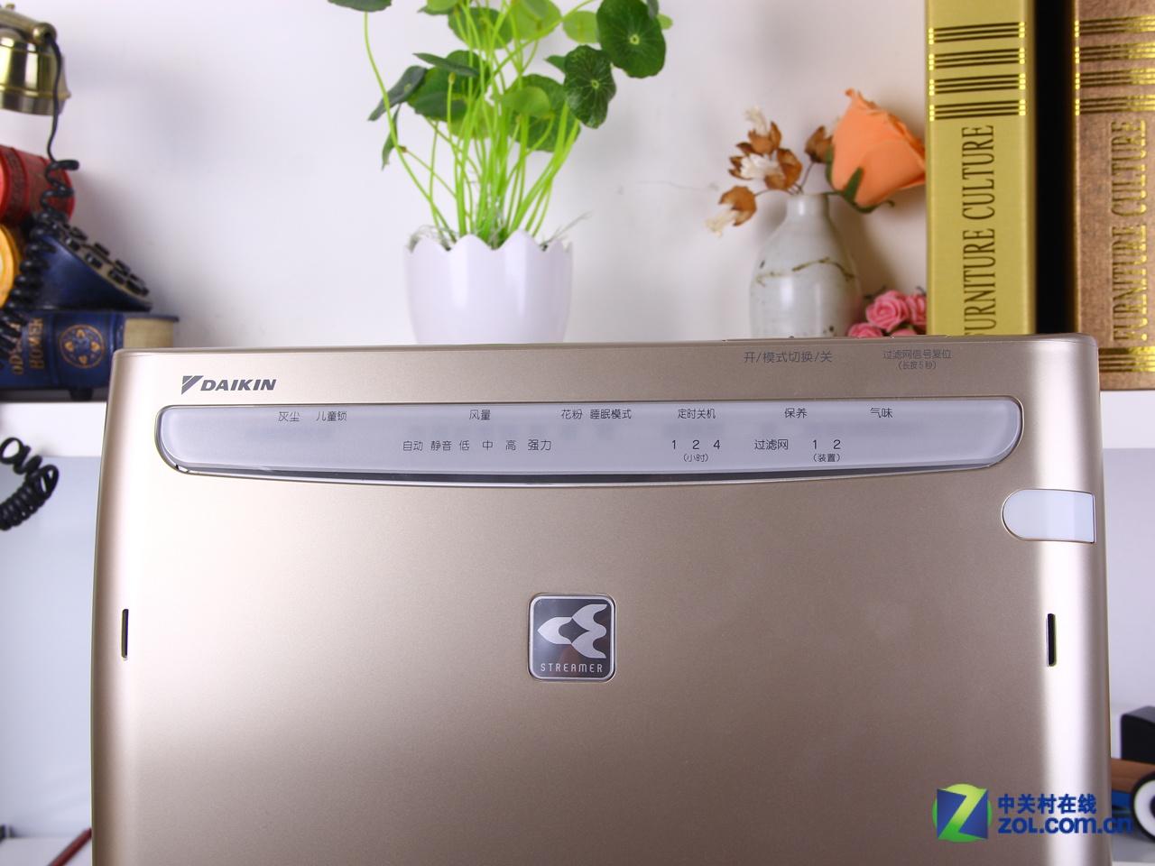 六层高效过滤系统 大金空气净化器图赏