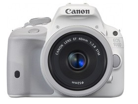 佳能100D白色限量版套机 40mm主图1