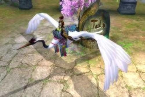 《诛仙》坐骑 仙鹤(图片来自tgbus)