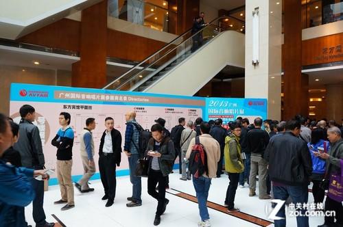 2013广州音响展 场地以及通告等图赏