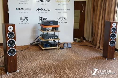 2013广州音响展 丹拿带来HiFi组合音响