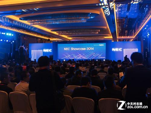 NEC Showcase 2014新品方案发布会召开
