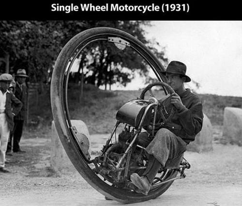 单轮摩托车