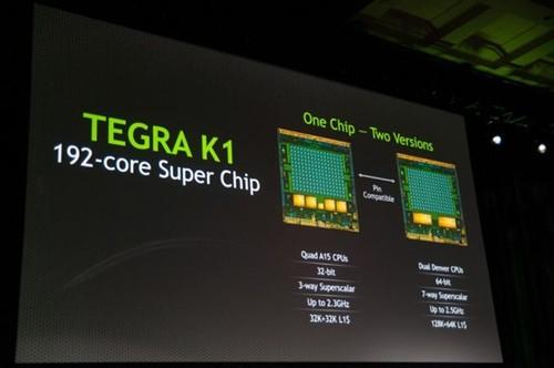 今日必读:NVIDIA发布64位Tegra K1处理器