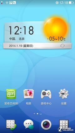 OPPO N1 CM版对比Color OS