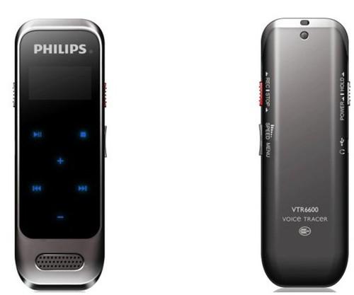 飞利浦首款纤薄触摸式录音笔登陆中国