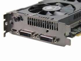 七彩虹GTX750Ti显示输出接口
