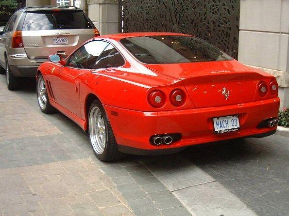 法拉利575M 跑车版