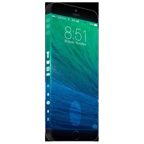 苹果iphone6超炫图!无边框屌炸天!