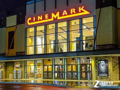北美Cinemark尝鲜 巴可秀4K激光放映机