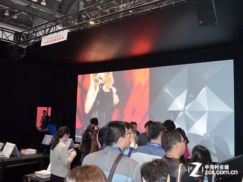 infoComm2014:巴可秀欧歌赛创意舞台